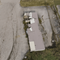 Drone Photo of Storm Damage