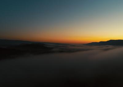 Skyline Drone Photo